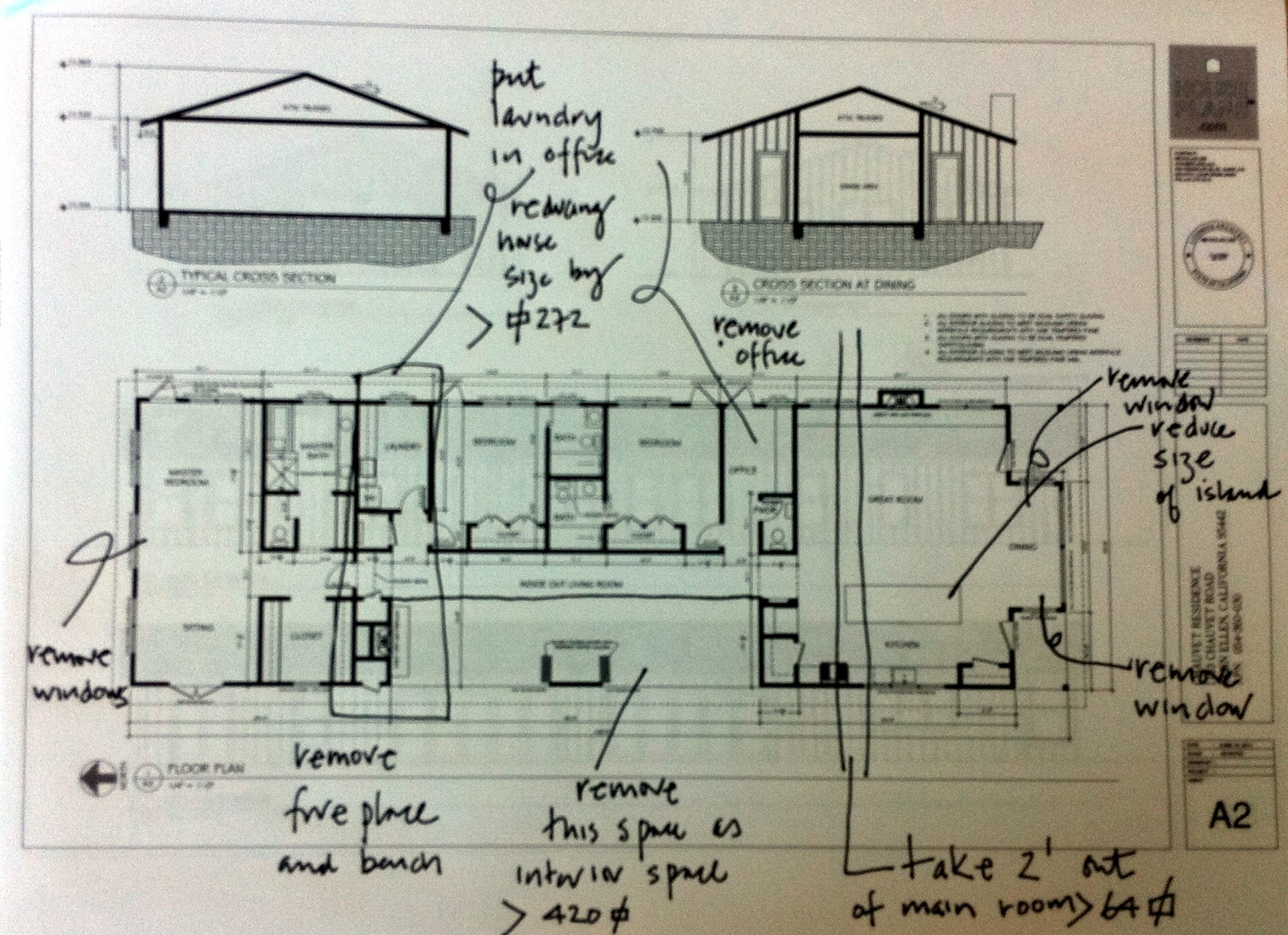August 2011 building a country house house plans for Construction plan drawing